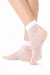 Conte Elegant Rette_Socks_Medium_23-25_Bianco
