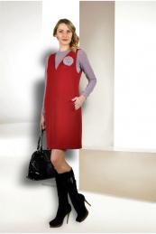 Talia fashion Пл-070 винный, Дж-010