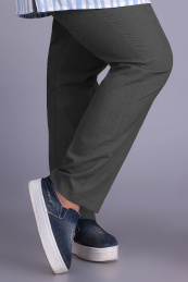 Algranda by Новелла Шарм А3549-хаки-брюки