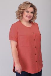Algranda by Новелла Шарм А3560-терракот-рубашка