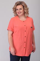 Algranda by Новелла Шарм А3560-персик-рубашка