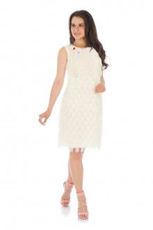 Платье Effect-Style 661 молочный