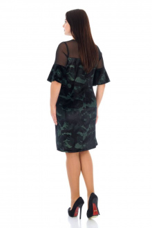 Платье Effect-Style 686 черный,хаки