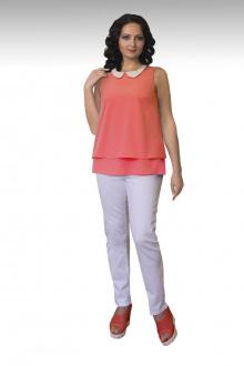 Блузы Effect-Style 626 персиковый