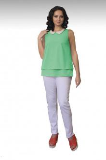 Блузы Effect-Style 626 ментол
