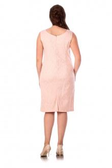 Платье Effect-Style 627 пудровый