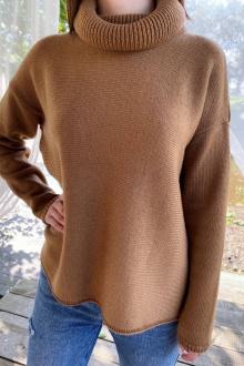 Джемперы Romgil ТЗ337 коричневый