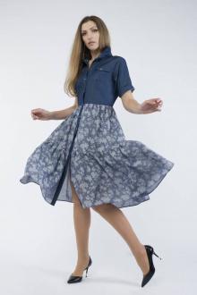 Платье Effect-Style 812 джинс