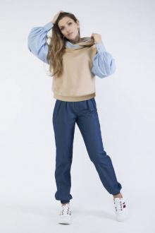 Блузы Effect-Style 810 деним