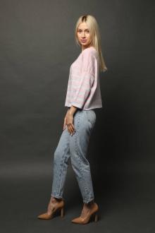 Джемперы Romgil ТЗ189 бледно-розовый,белый