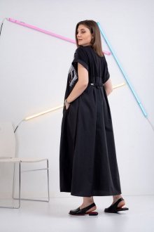 Платье GRATTO 8112 черный