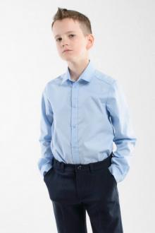 Рубашки с длинным рукавом Weaver 8074 светло-голубой
