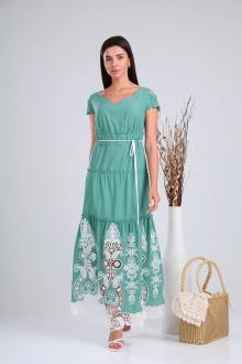 Платье Verita 1199 бирюза