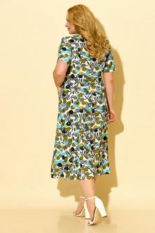 Платье БАГРЯНИЦА 5030 зеленый