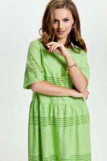 Платье TEZA 2636 салатовый