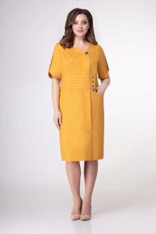 Платье VOLNA 1199 горчично-желтый
