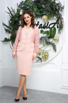 Плательный комплект Anastasia 545 ч.роза