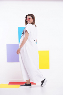Платье GRATTO 8112 белый