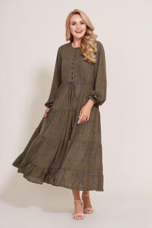 Платье Mubliz 581 хаки