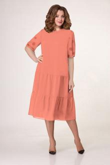 Платье VOLNA 1201 светло-персиковый
