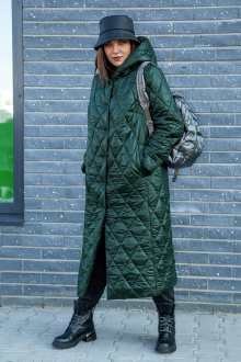 Женское пальто Lady Secret 5007 изумруд