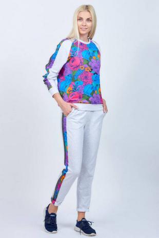 брюки и жакет Achosa 2228 цветной принт