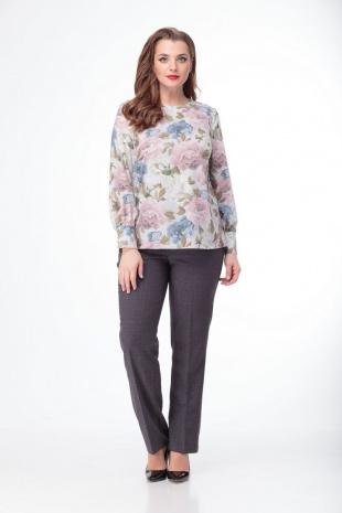 блуза Anelli 730 цветы