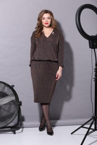 платье Carina deLux B-225 медный