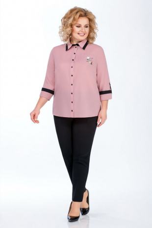 блуза Медея и К 2007 розовый