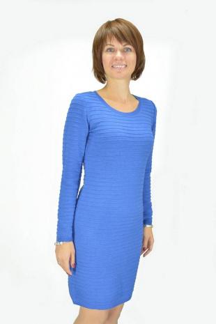 платье Romgil ТН433 синий