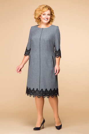 платье Romanovich Style 1-1284 серый