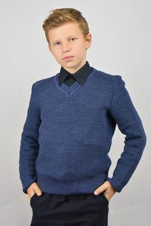 джемпер для мальчика Romgil ТН274 джинс