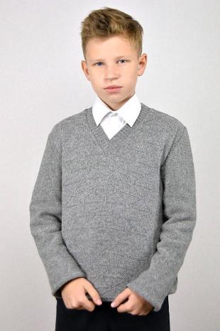 джемпер для мальчика Romgil ТН222 серый