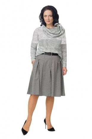 джемпер Effect-Style 679 серый,черный
