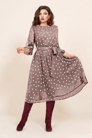 платье Mubliz 423 бежевый