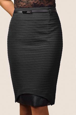 юбка Klever 385/1 черный