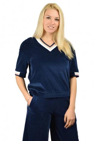 блуза Romgil ТЗ341ДБ синий