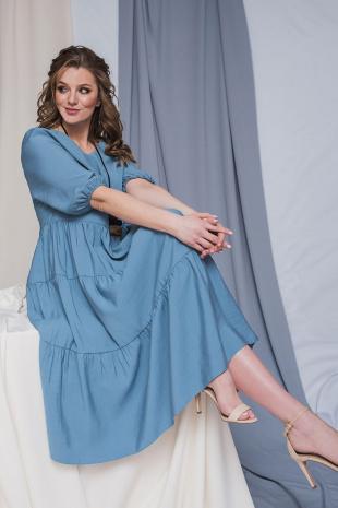 платье ELLETTO 1767 голубой