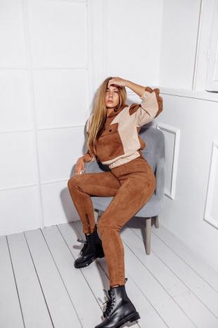 брюки Rawwwr clothing 171 коричневый
