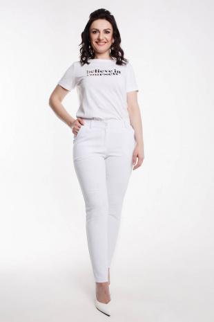 брюки Дорофея 97 белый