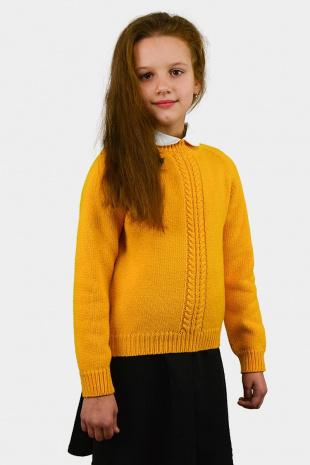 джемпер для девочки Romgil ТН260 желтый