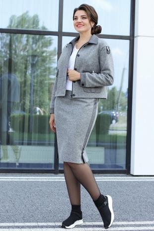 Мода Юрс 2592 серый
