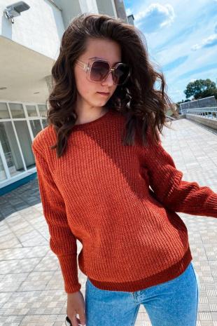 джемпер Romgil ТЗ325 оранжевый,рыжий