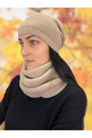 шапка Romgil ТЗ036 светло-бежевый