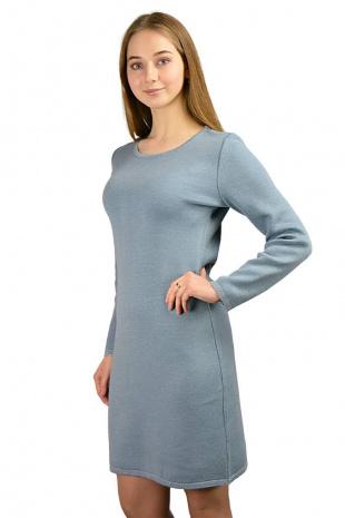 платье Romgil ТЗ171 серо-голубой