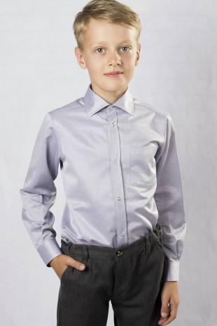 рубашка для мальчика Nadex 531032И меланж_синий