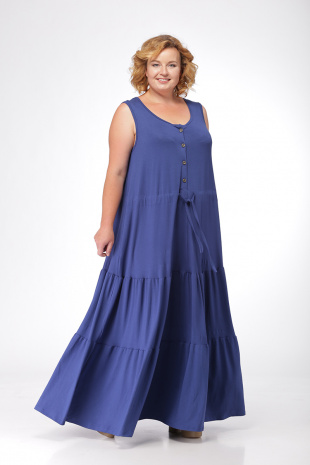 00d63b1a7e24236 платье Michel chic 904 синий
