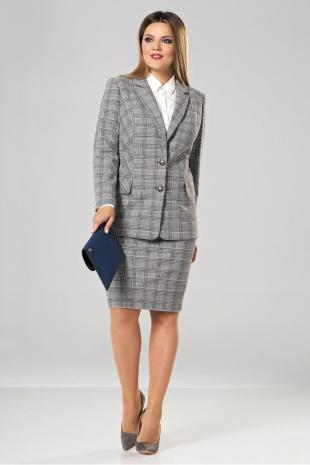 Юбочный костюм Lady Secret 1580 серый