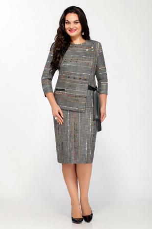 Юбочный костюм GALEREJA 561 серый