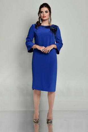 платье Faufilure С681 василек